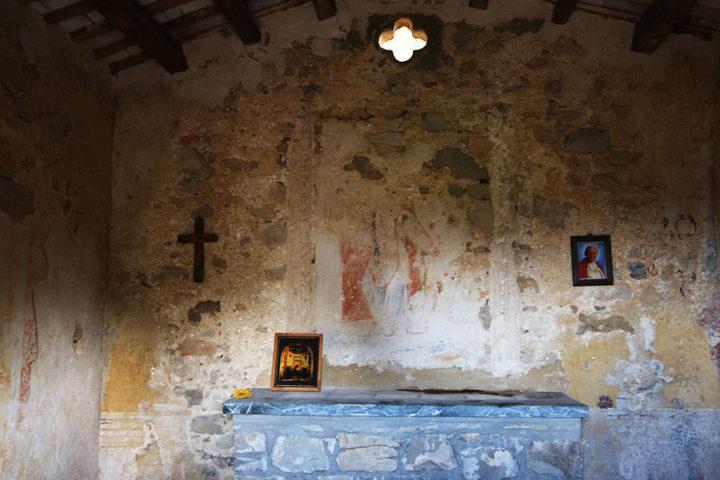 Chiesetta di San Matteo - altare