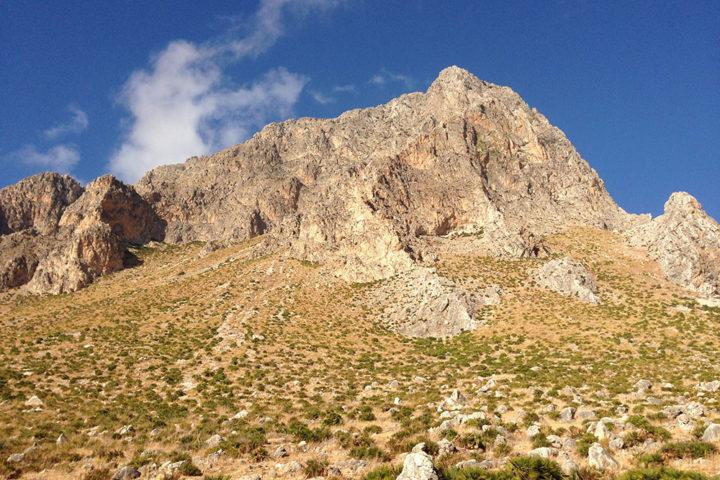 Monte Cofano dal sentiero costiero