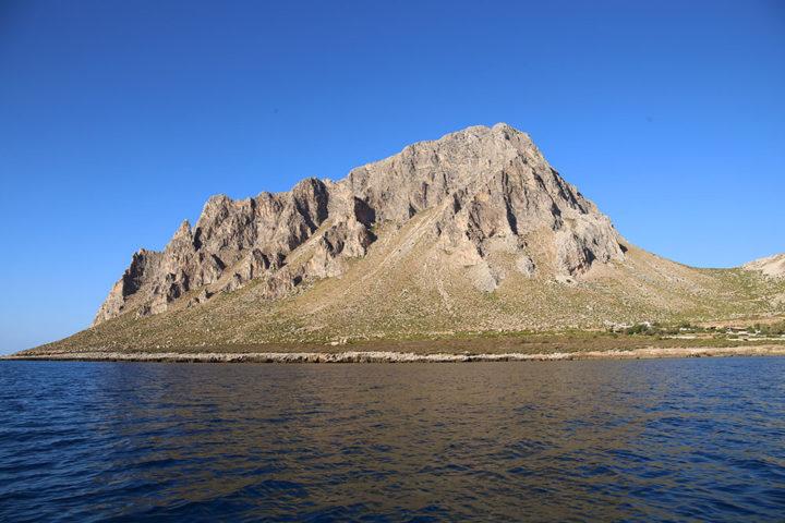 Monte Cofano visto dal mare