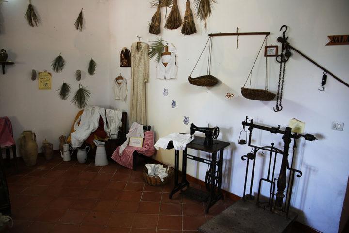 Museo agroforestale - esposizione utensili