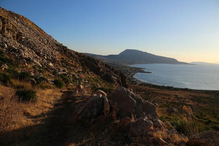 Panorama su Monte Erice