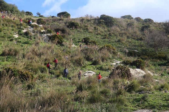 discesa da Monte Barbaro