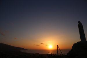 madonna-regina-pacis-tramonto