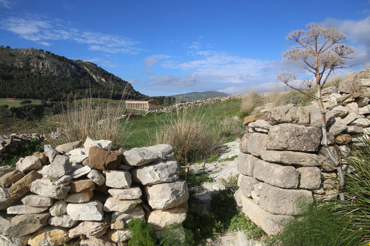 In Tempio di Segesta da Monte Barbaro